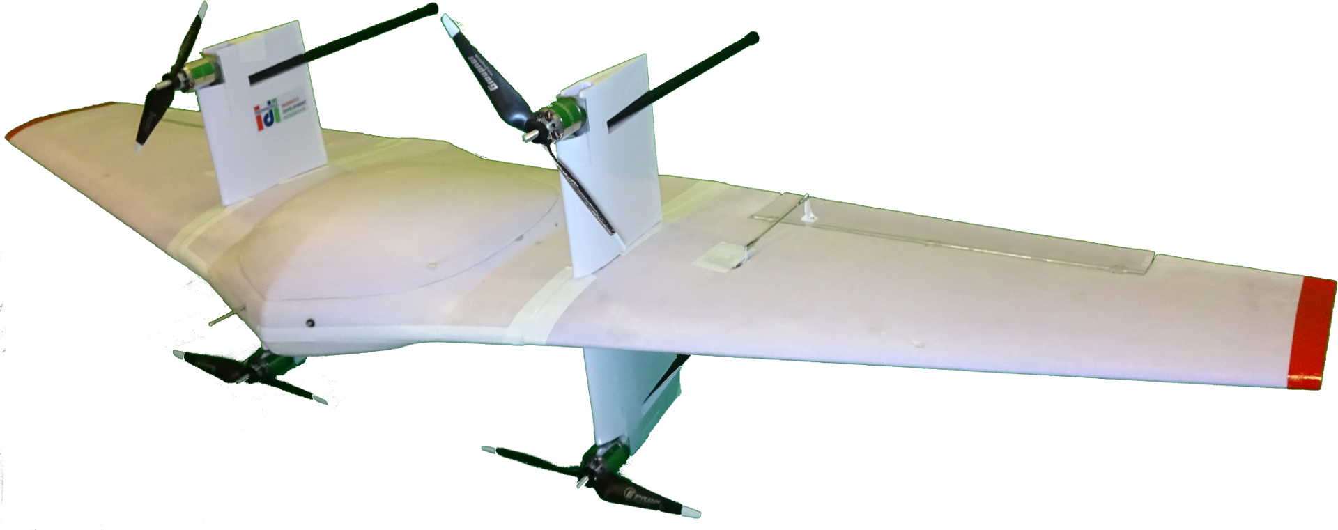 The Transition From Hover To Horizontal Flight For DrOne Small UAS Has Been Demonstrated With Fourth PoC Prototype